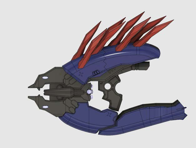 Electronic - Halo 4 Needler prop weapon with  SLT files